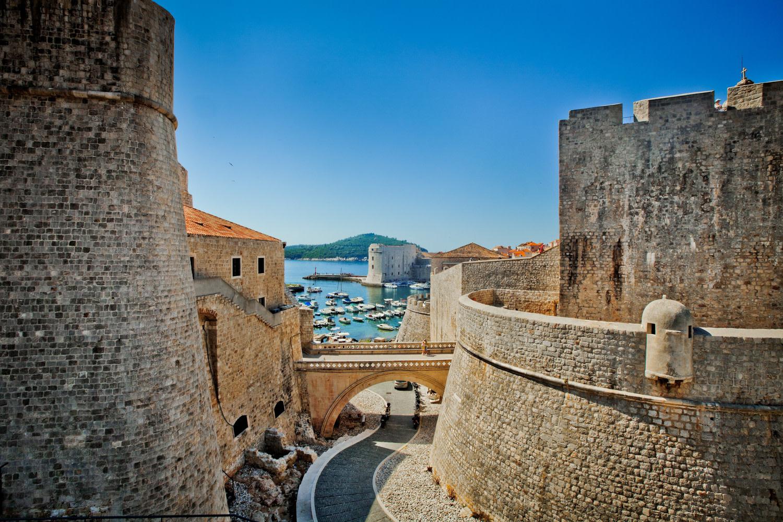 Dubrovnik - Vieille ville de Dubrovnik depuis sa forteresse