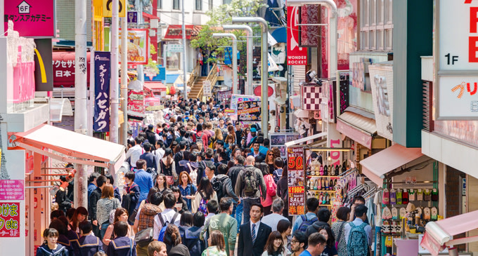 takeshita dori street
