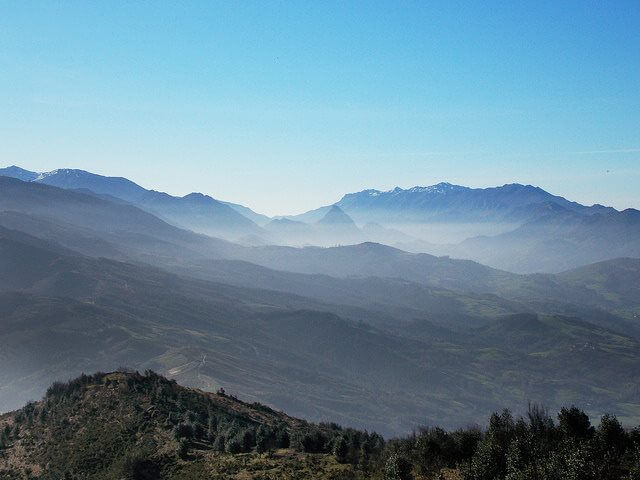 Valle de Nandas cantabria españa