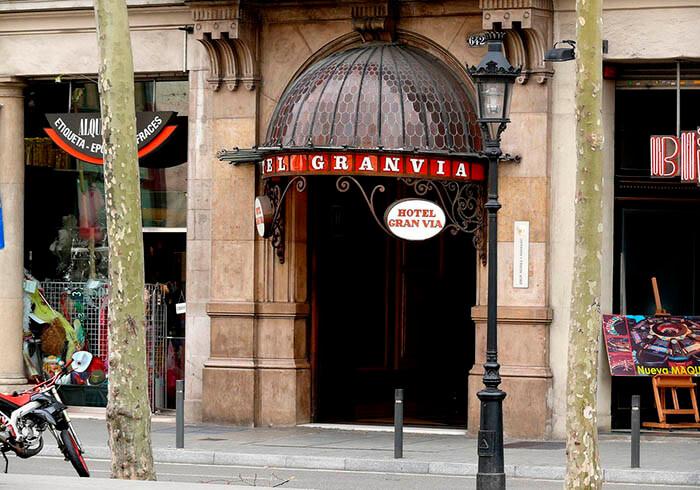 hotel clasico en barcelona granvia