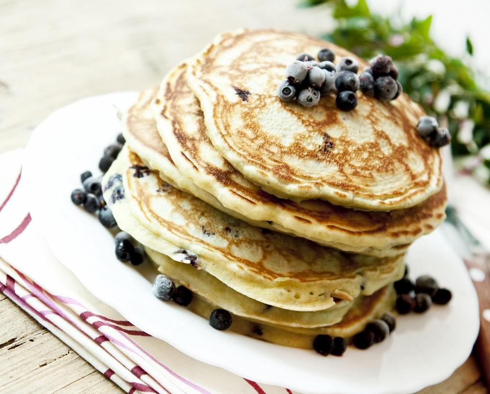 Colazione americana a base di pancakes