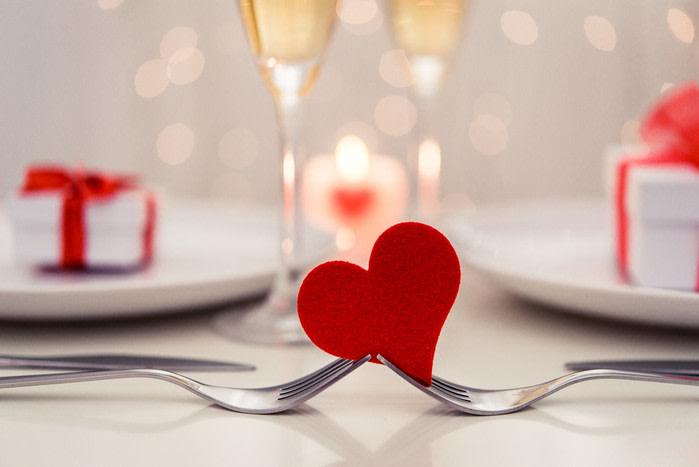San Valentin restaurante