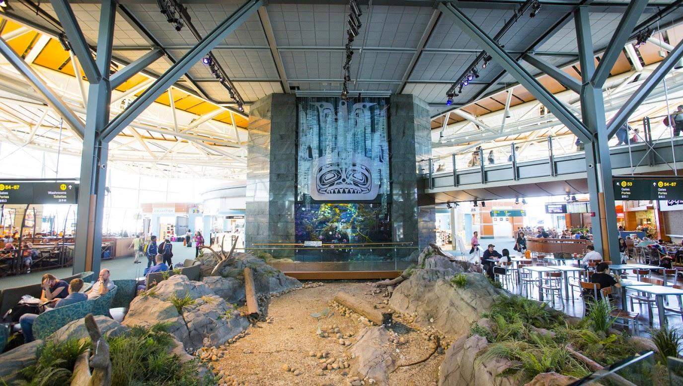 Aeropuertos más bonitos del mundo: Vancouver