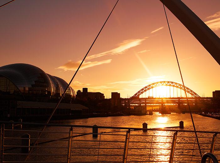 Quayside - Image courtesy of NewcastleGateshead Initiaive