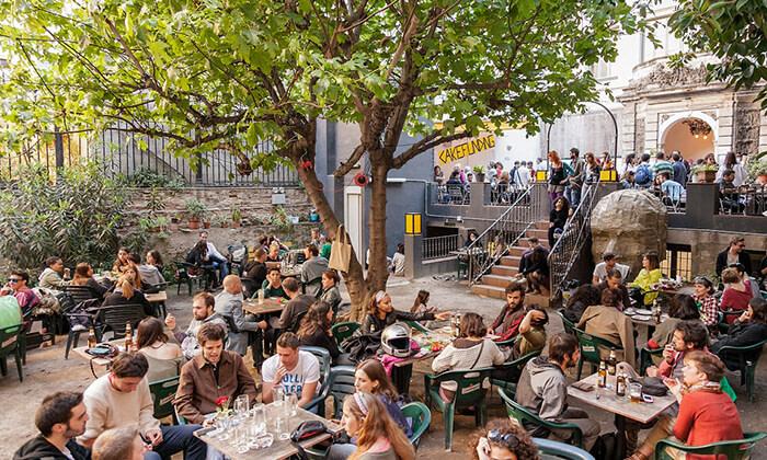 Terrazas de Barcelona Bar de lAntic Teatre