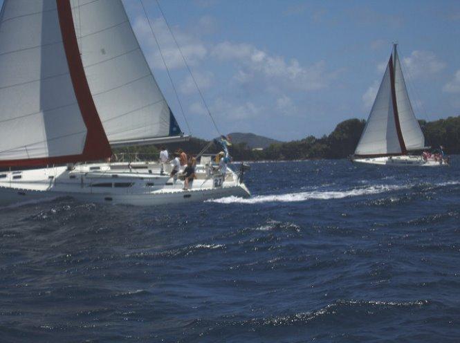 regatta isla bequia en las granadinas