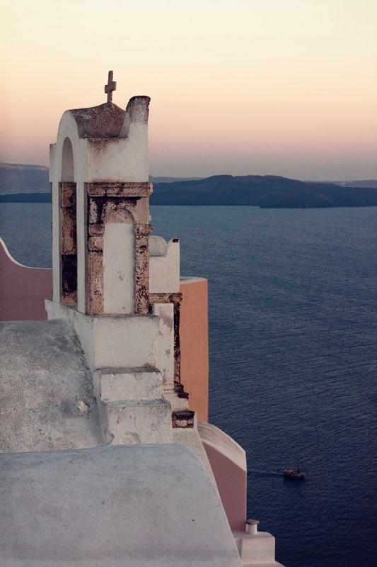 Il tramonto ad Oia, Santorini
