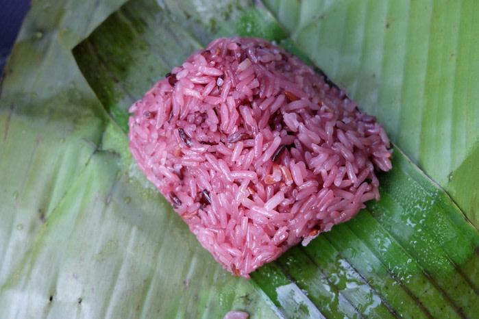 Comida típica filipina en Navidad : Puto bumbong