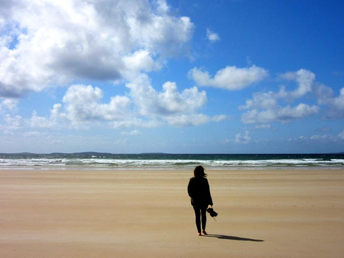 qué ver en irlanda: playa en irlanda
