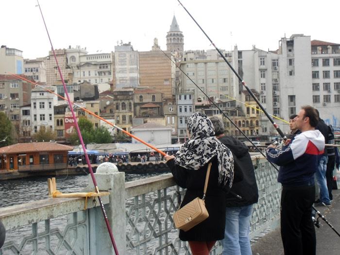 Qué ver en estambul: pescadores estambul