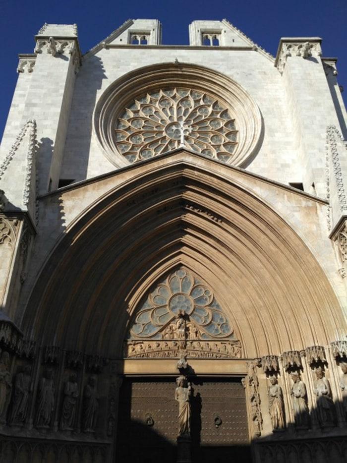 Tarragona: Catedral de la Santa Tecla de Tarragona.