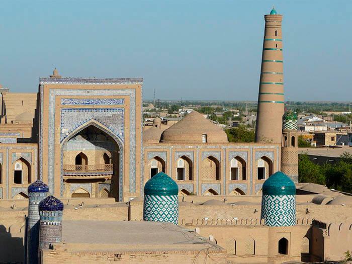 jiva ciudad de uzbequistan