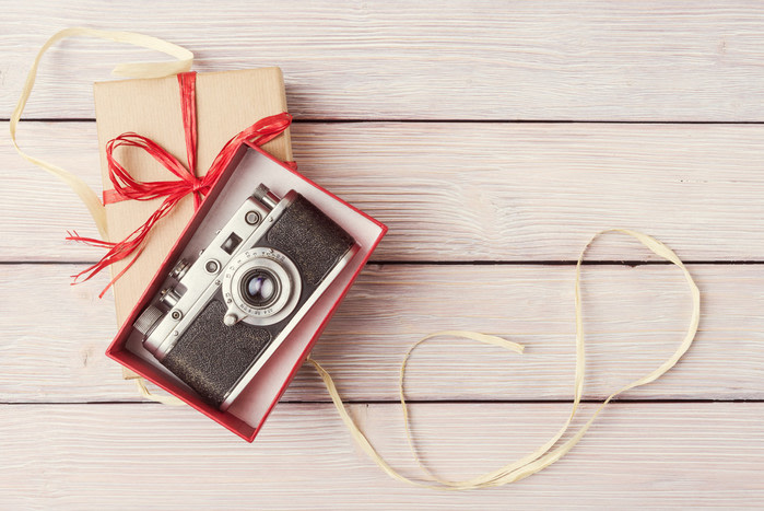 Compras Navidad en Madrid: cámara de fotos vintage