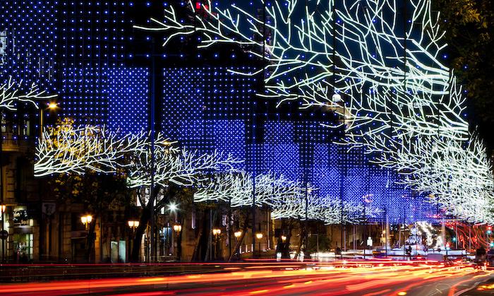 Madrid Navidad iluminado