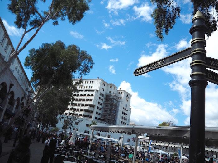 Gibraltar: Main street