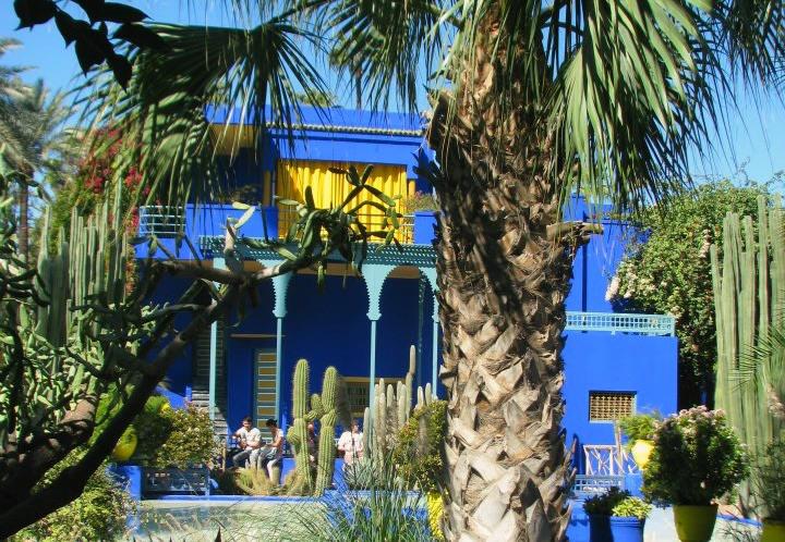 Marruecos: Jardín Majorelle