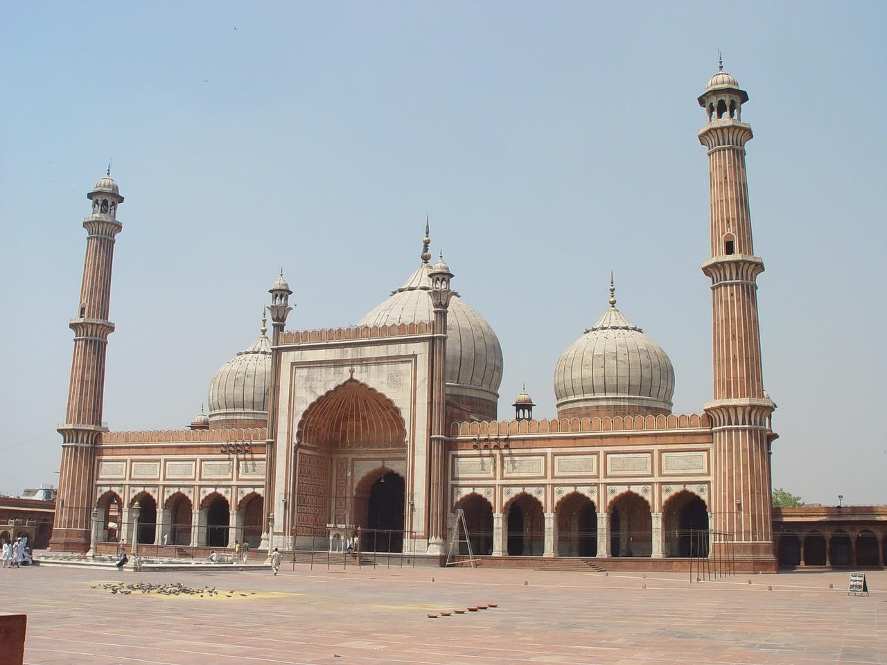 Mezquita en Delhi