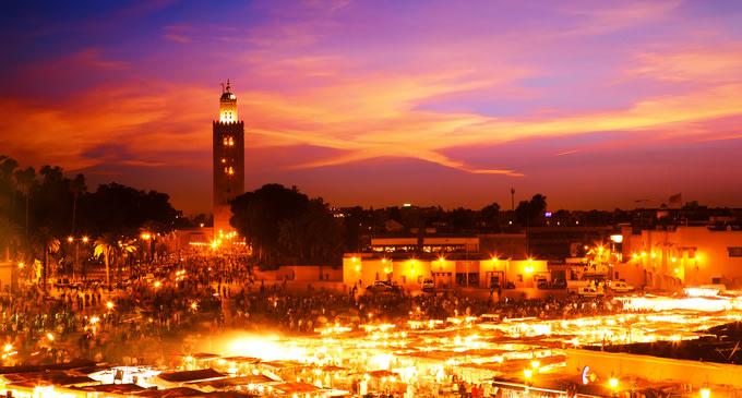 Marrakech mercato
