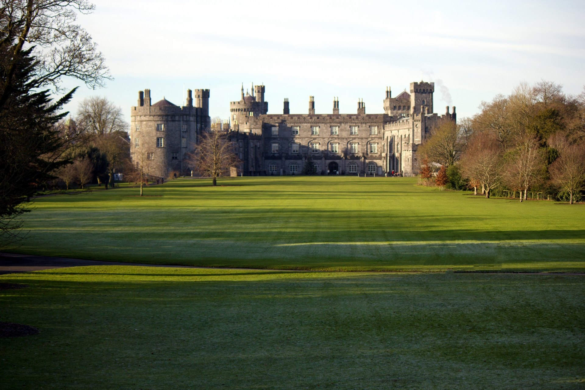 Il parco di Kilkenny Castle