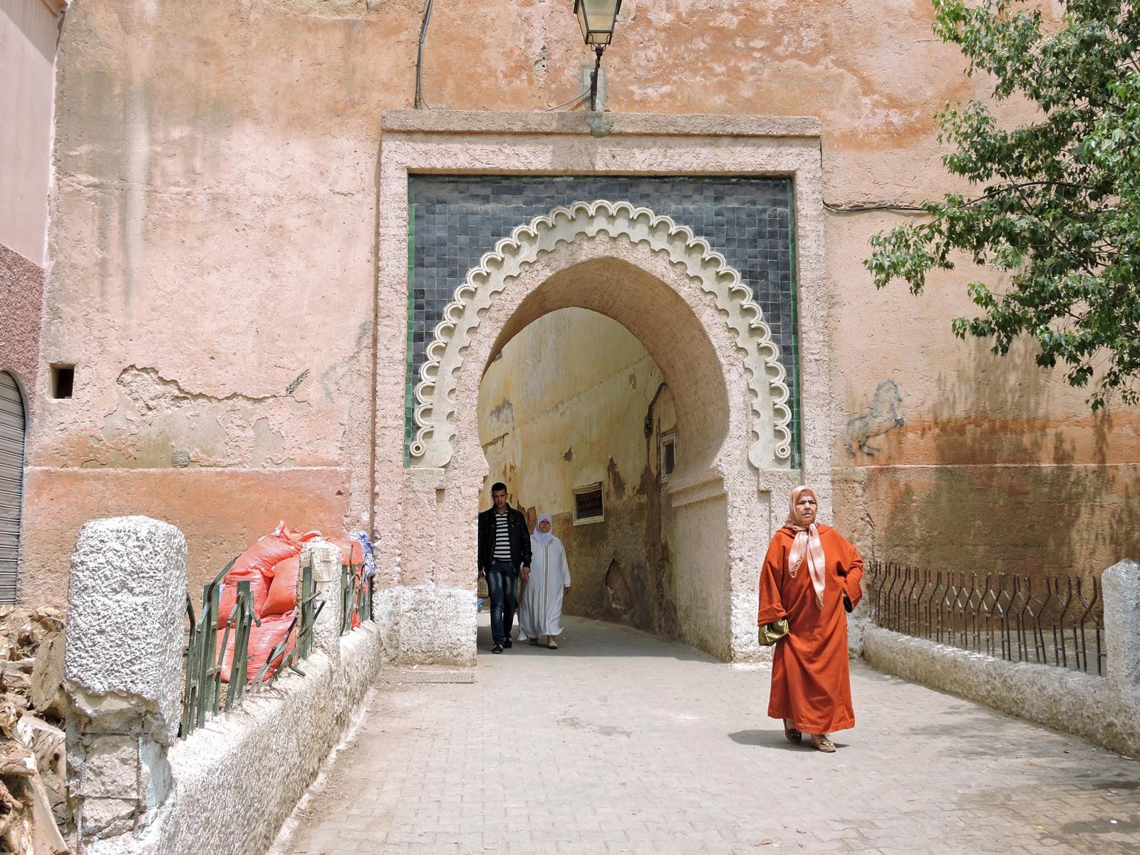 Meknes uno degli accessi alla Medina