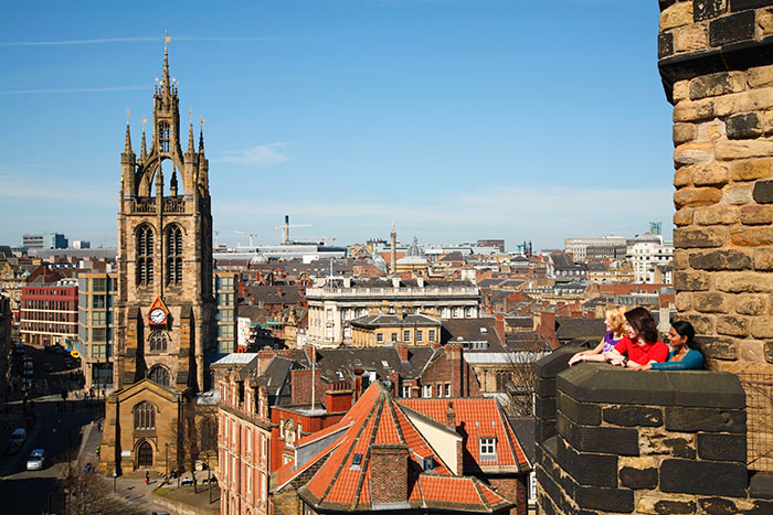 Castle Keep in Newcastle. Image courtesy of NewcastleGateshead Initiaive