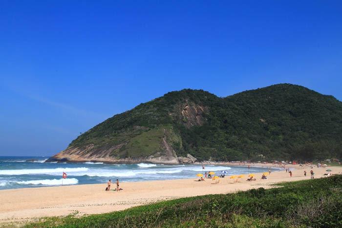 praia de grumari en brasil