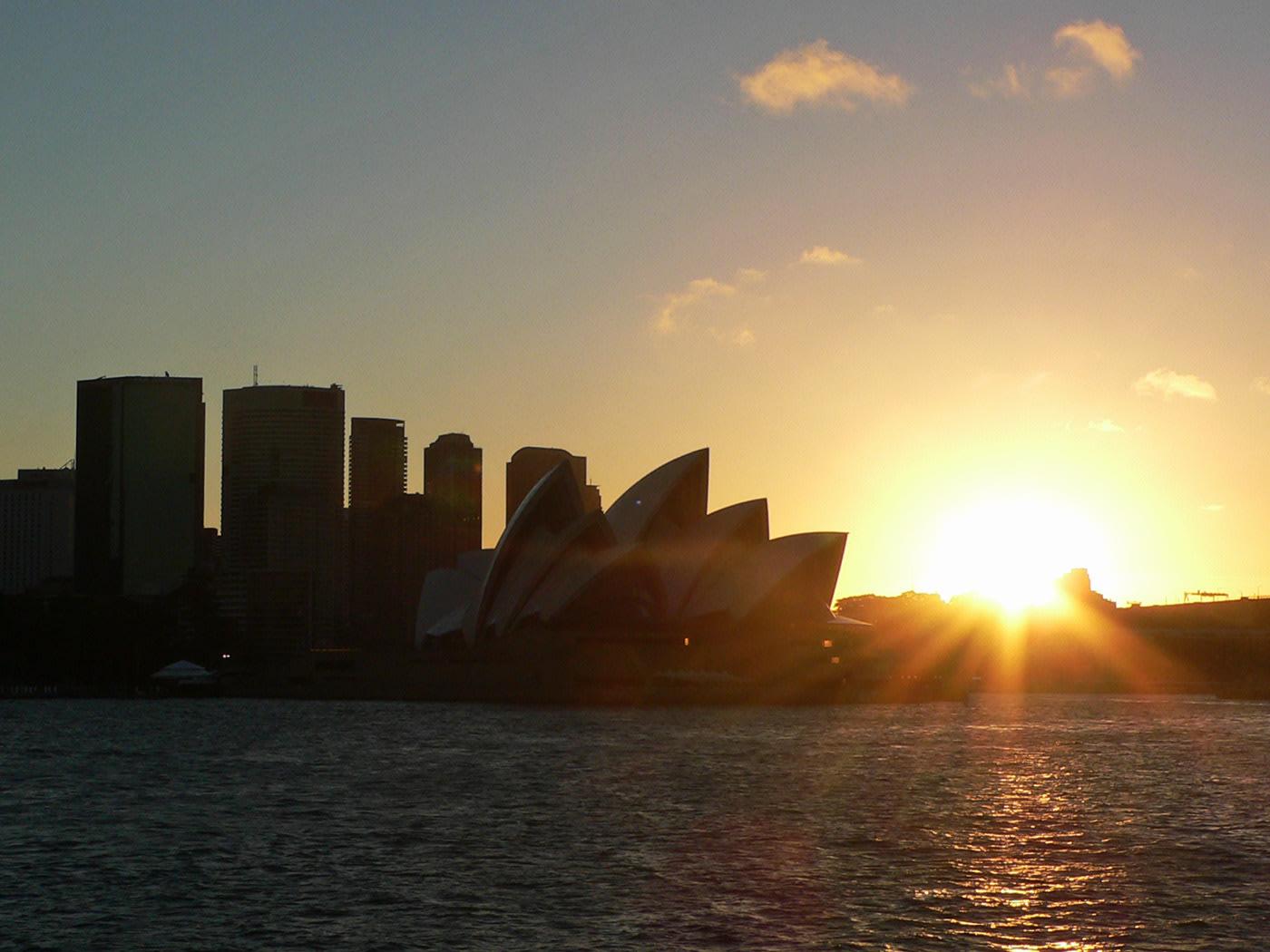Sydney, tramonto su Circular Quay