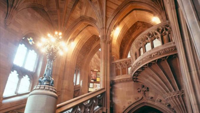 que ver en manchester biblioteca John Rylands en Manchester