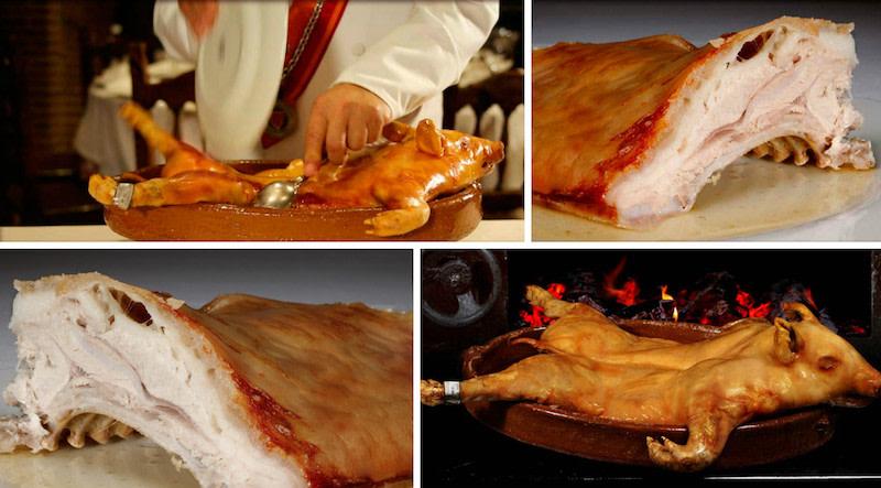 Ruta gastronómica: De los mejores cochinillos de Segovia. Restaurante José María.