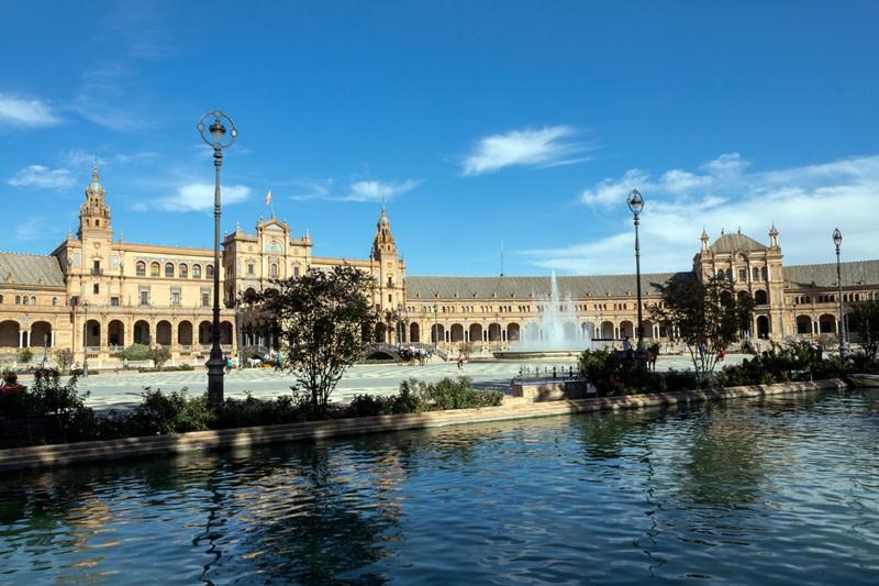 Andalusia: Plaza de Espana, Siviglia.