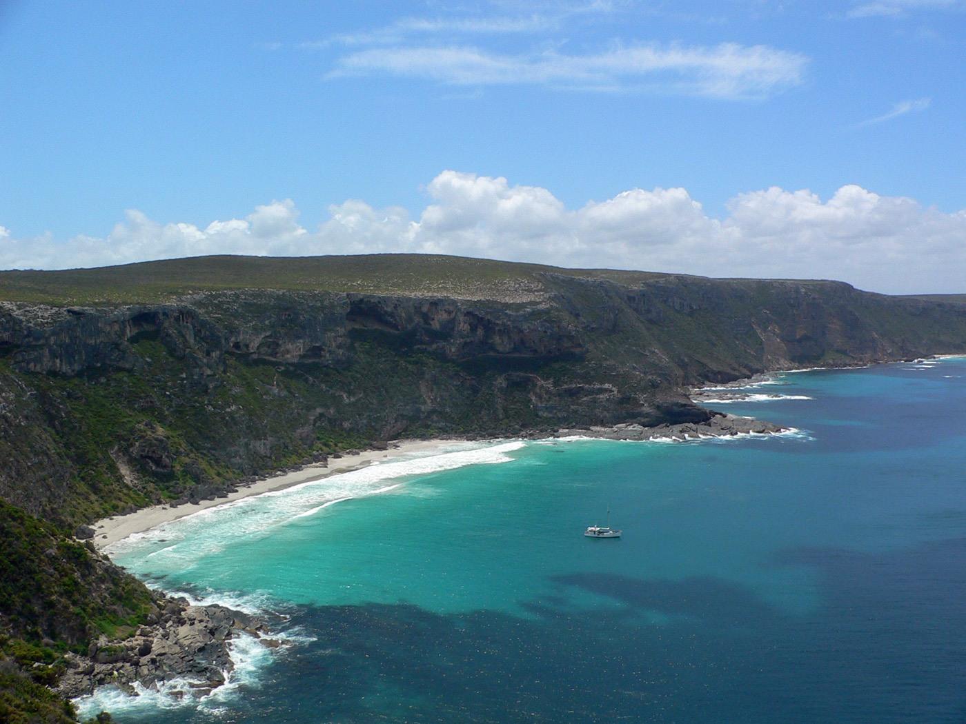 La costa meridionale di Kangaroo Island . Cabiria Magni Australia
