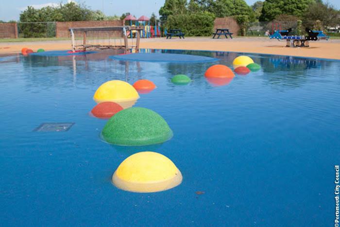Hilsea Splash Pool (c) Portsmouth City Council