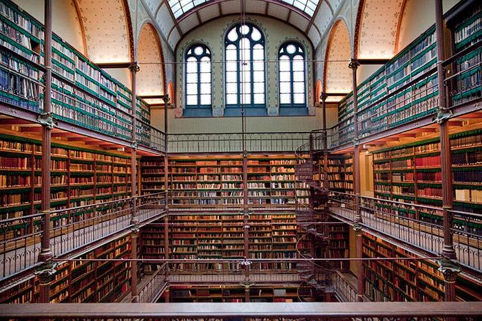Rijksmuseum library. Image by Frank van Beek