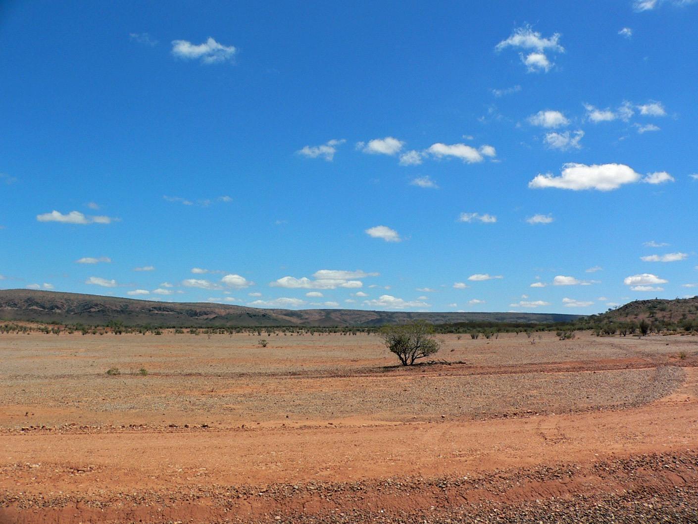 La sabbia rossa del Red Centre. Cabiria Magni Australia