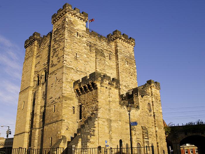 Newcastle Castle. Image courtesy of NewcastleGateshead Initiaive