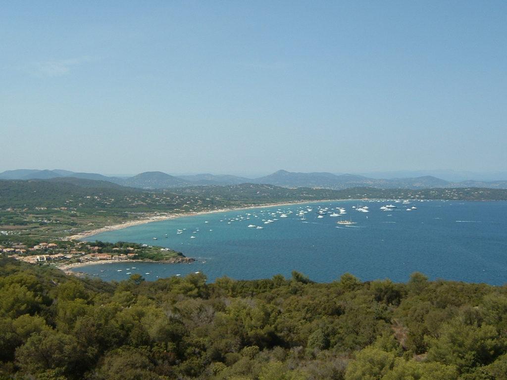 Playas naturistas: plage de pampelonne en saint-tropez