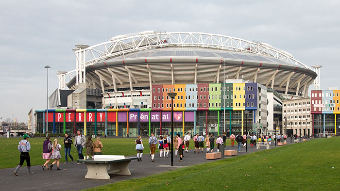 Arena boulevard. Image by Edwin van Eis