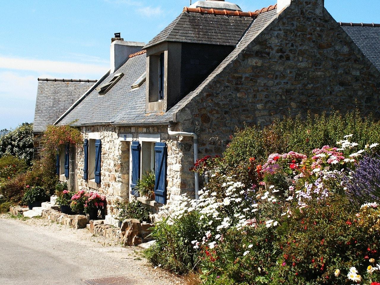 Un tipico cottage bretone