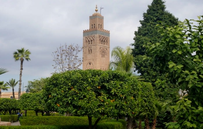 Marruecos : mezquita la Koutoubia