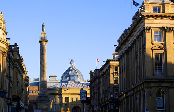 Greys Monument. Image courtesy of NewcastleGateshead Initiaive
