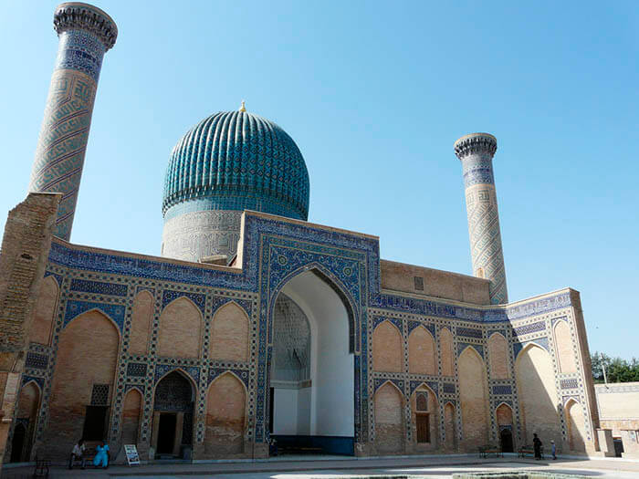 tumba gur e amir en samarkanda uzbekistán
