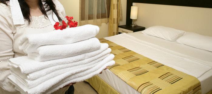 Hotel cambio de toallas