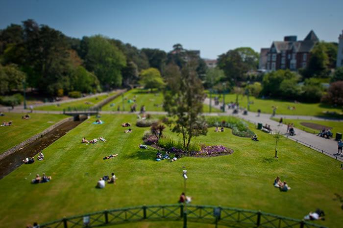 Bournemouth Lower Gardens. (c) VisitEngland & Bournemouth Tourism