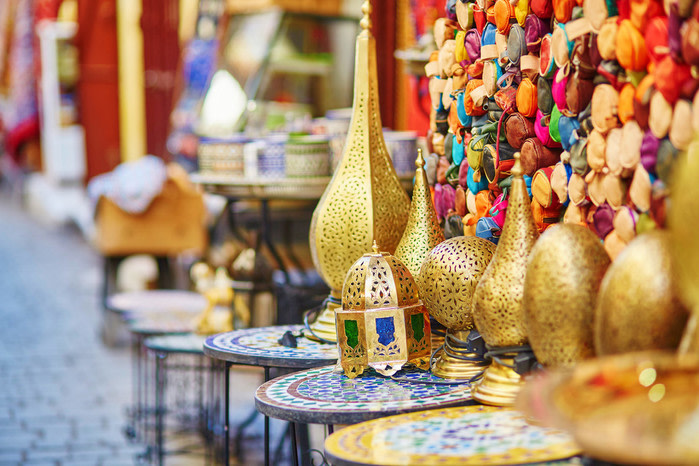 Zoco en Marrakech