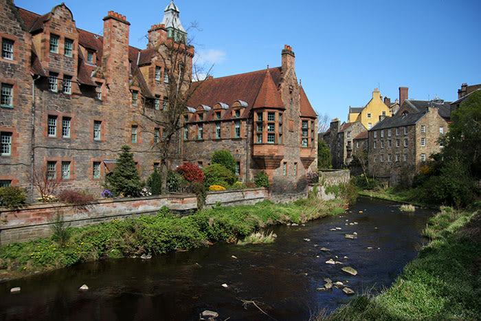 Dean Village en Edimburgo