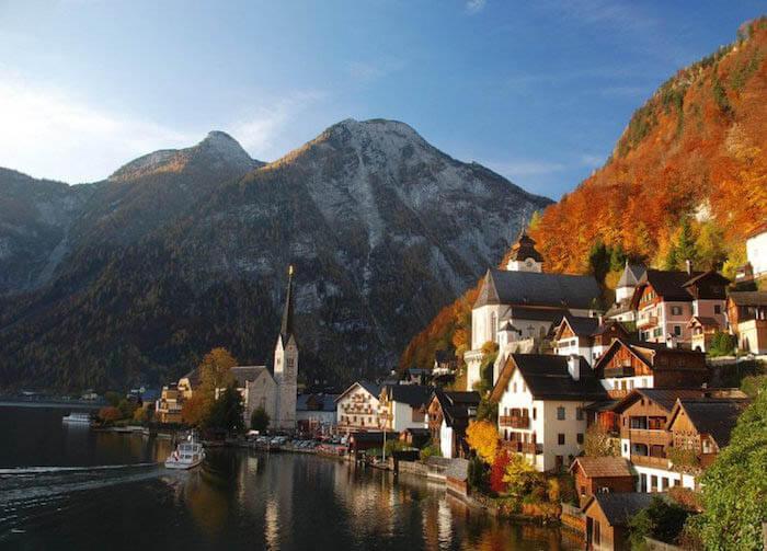 que ver en austria Hallstatt
