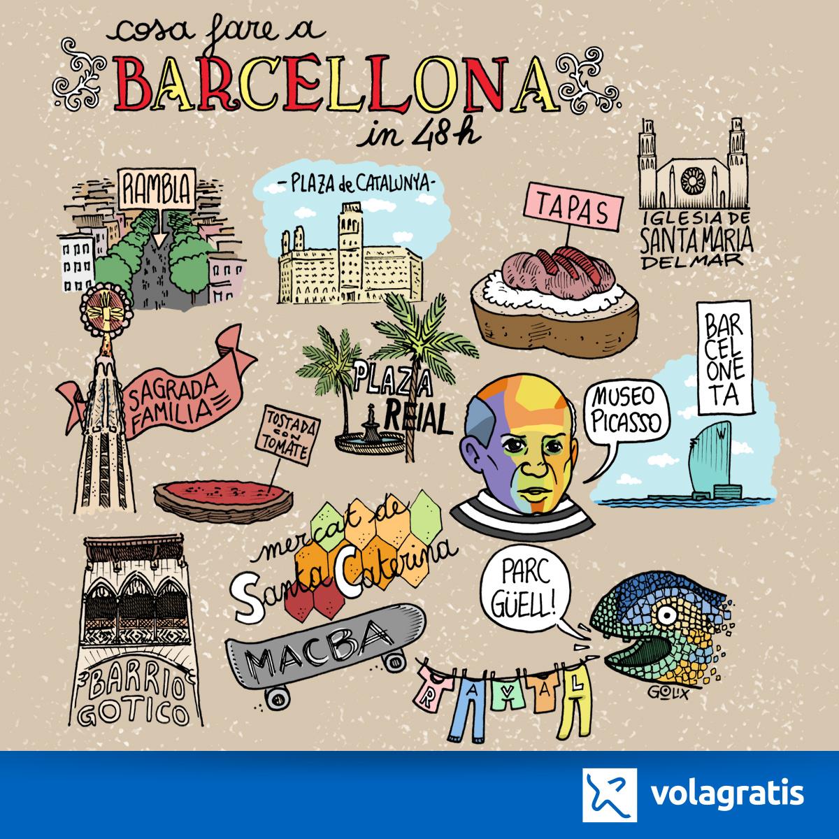 Barcellona a fumetti