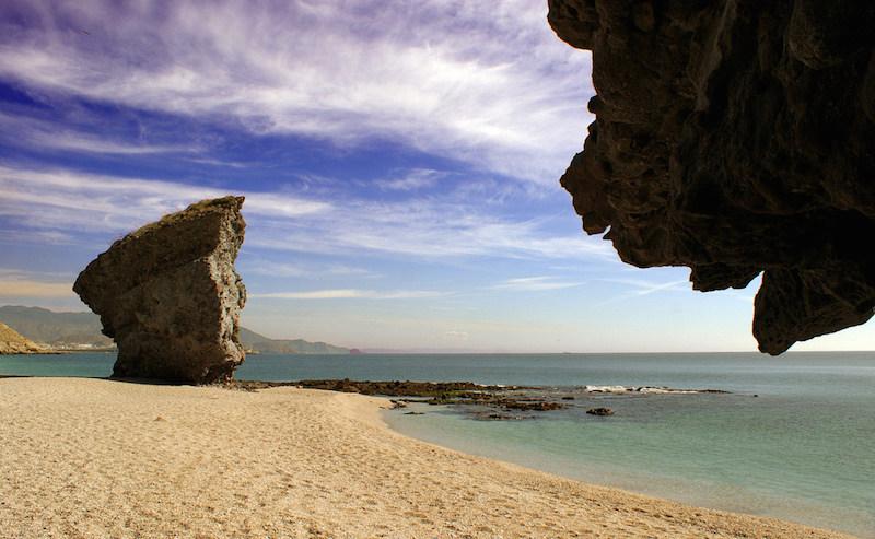 playas vírgenes: Playa de los Muertos.