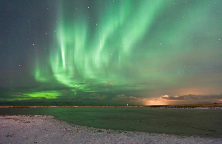 aurora boreal en finlandia aventura