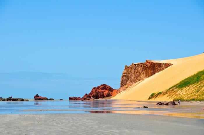 playa de cano quebrada en brasil